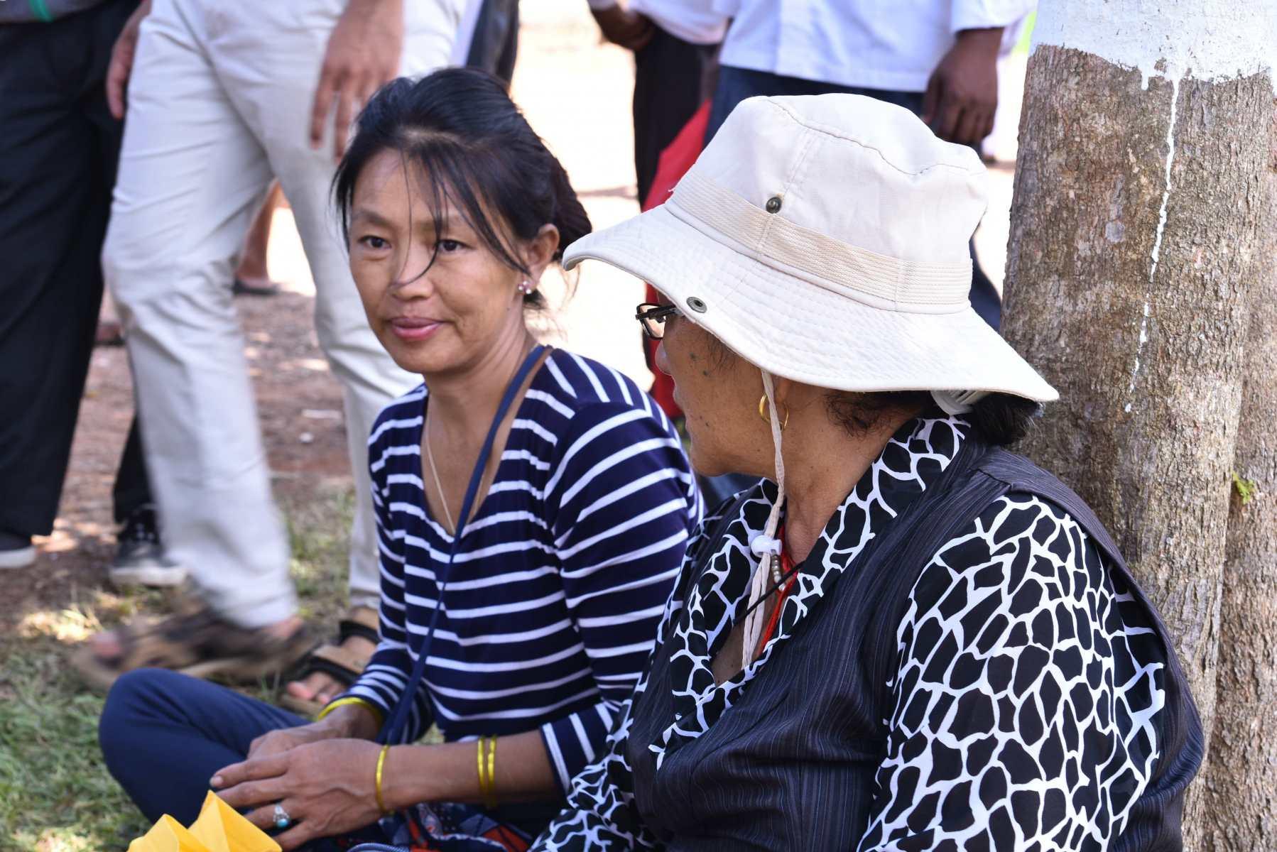 international visitors at mela