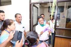 Demo of sugarcane sapplings
