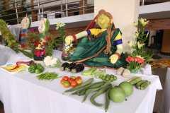 market display in Mela
