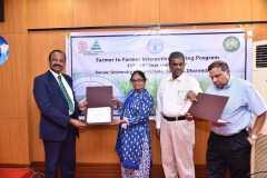 participants receiving certificates